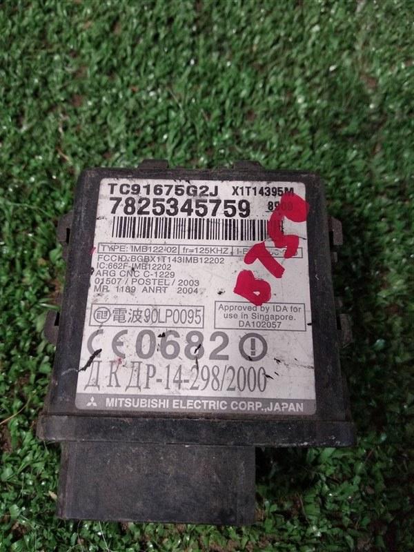 Блок иммобилайзера Mazda Bt-50 UN8F1 WLAA 2009 (б/у)