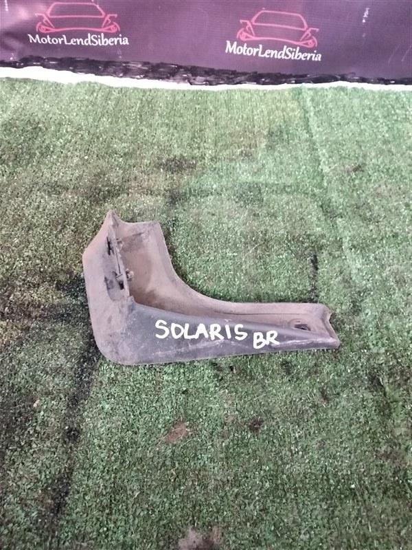 Брызговик Hyundai Solaris RB G4FC 2012 задний правый (б/у)