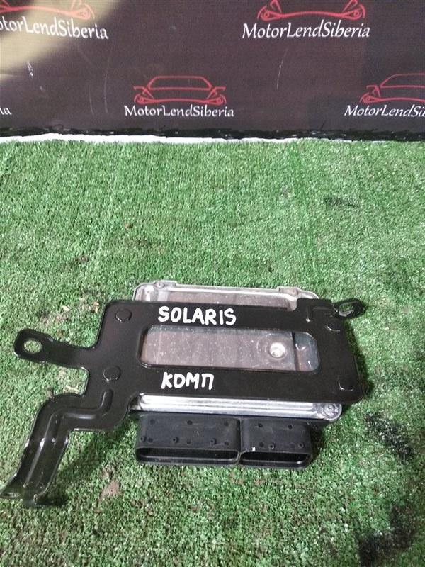 Блок управления двигателя Hyundai Solaris RB G4FC 2012 (б/у)