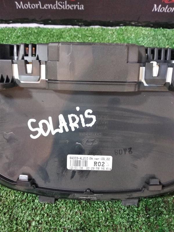 Щиток приборов Hyundai Solaris RB G4FC 2012 (б/у)