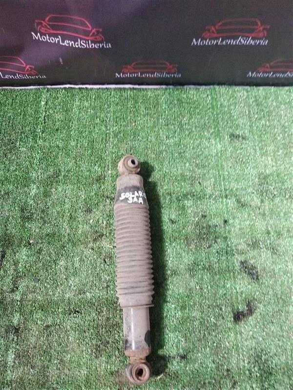 Амортизатор Hyundai Solaris RB G4FC 2012 задний (б/у)