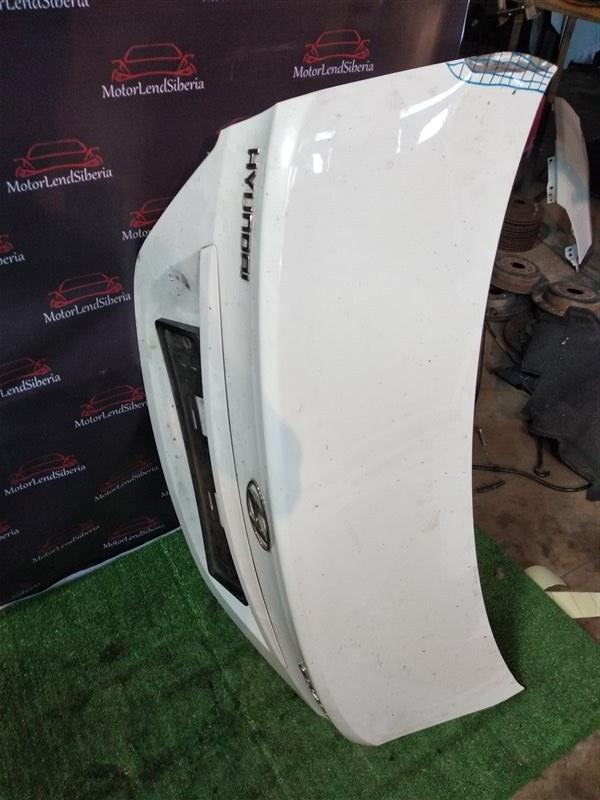 Крышка багажника Hyundai Solaris RB G4FC 2012 (б/у)