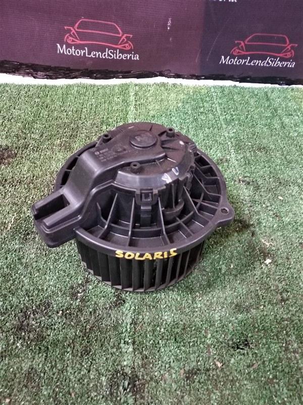 Мотор печки Hyundai Solaris RB G4FC 2012 (б/у)