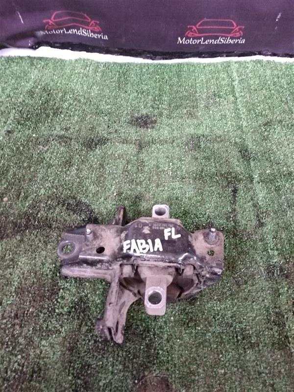 Подушка двигателя Skoda Fabia 5J2 CGGA 2010 левая (б/у)