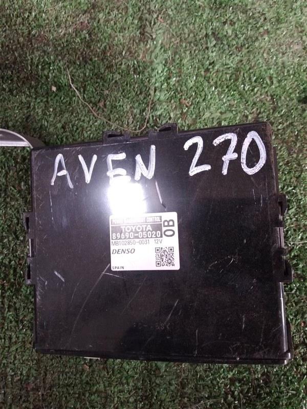 Блок управления питанием Toyota Avensis ZRT271 3ZR-FAE 2009 (б/у)