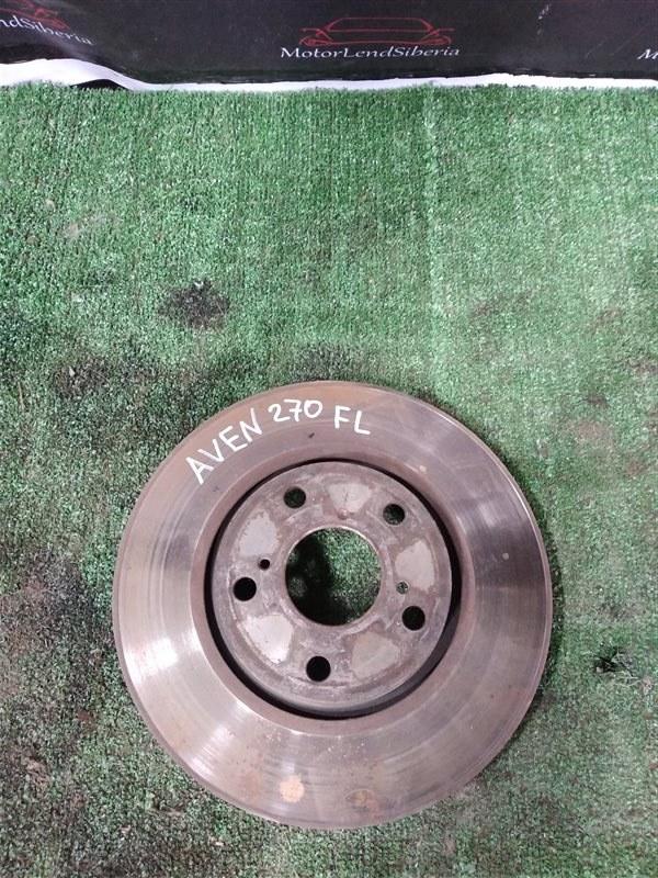 Тормозной диск Toyota Avensis ZRT271 3ZR-FAE 2009 передний (б/у)