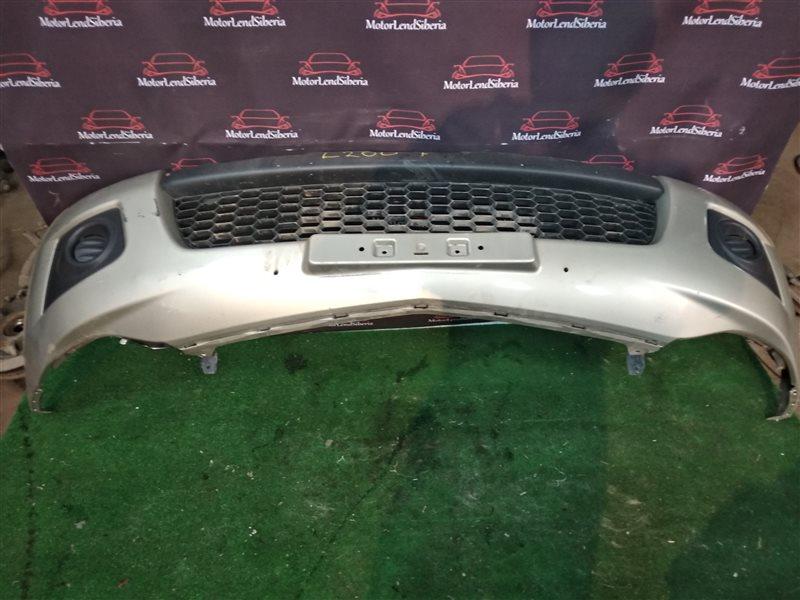 Бампер Mitsubishi L200 KB4T 4D56 2012 передний (б/у)