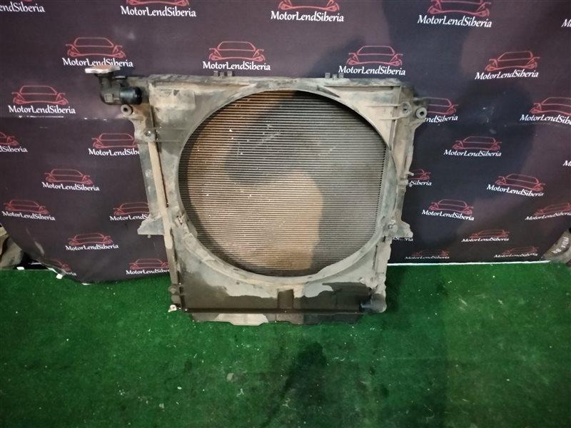 Радиатор двс Mitsubishi L200 KB4T 4D56 2012 (б/у)