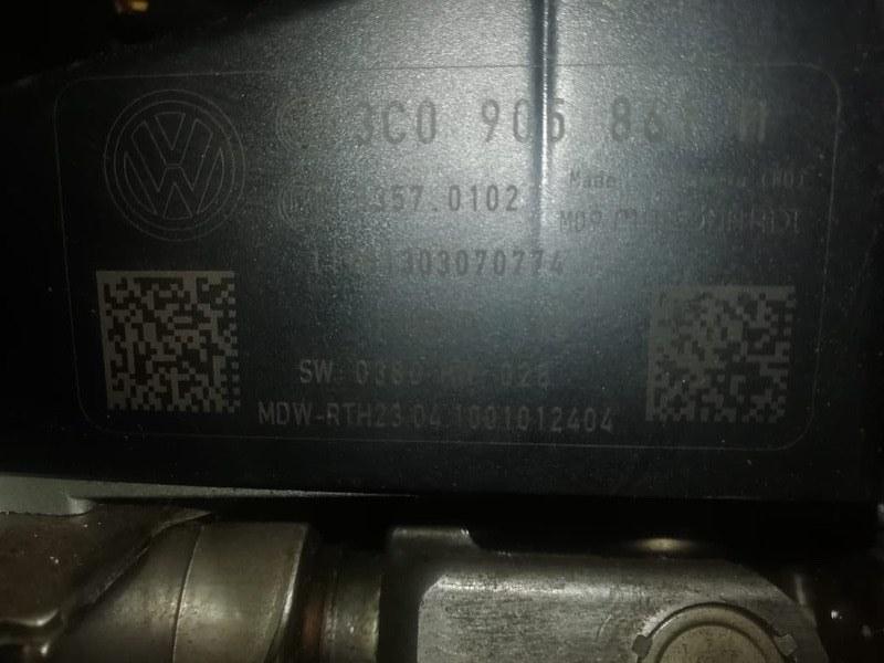 Рулевая колонка Volkswagen Passat B6 CDAB 2010 (б/у)
