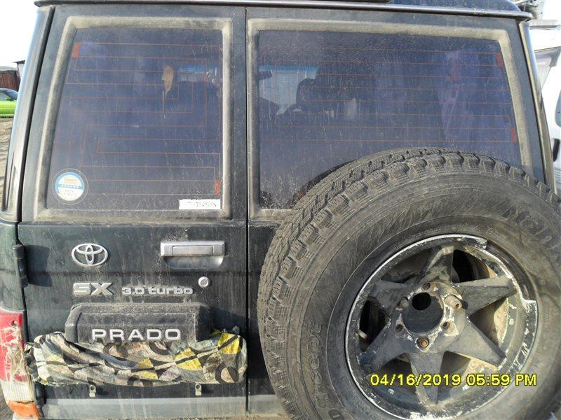 Дверь багажника Toyota Land Cruiser Prado KZJ78 1KZ-TE 1994 левая (б/у)