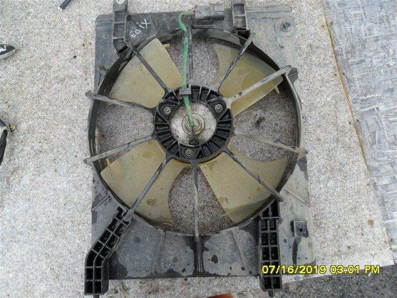 Вентилятор радиатора кондиционера Honda Edix BE4 K20A 2006 правый (б/у)