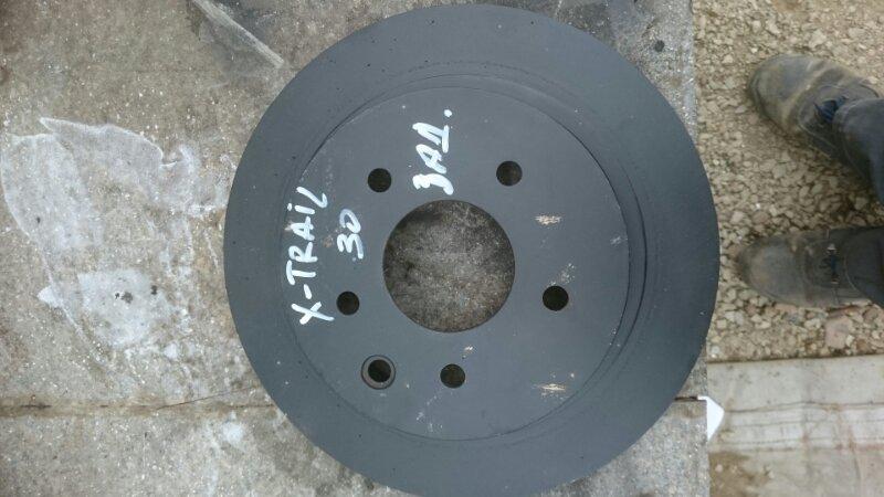 Тормозной диск Nissan X Trail 30 задний (б/у)