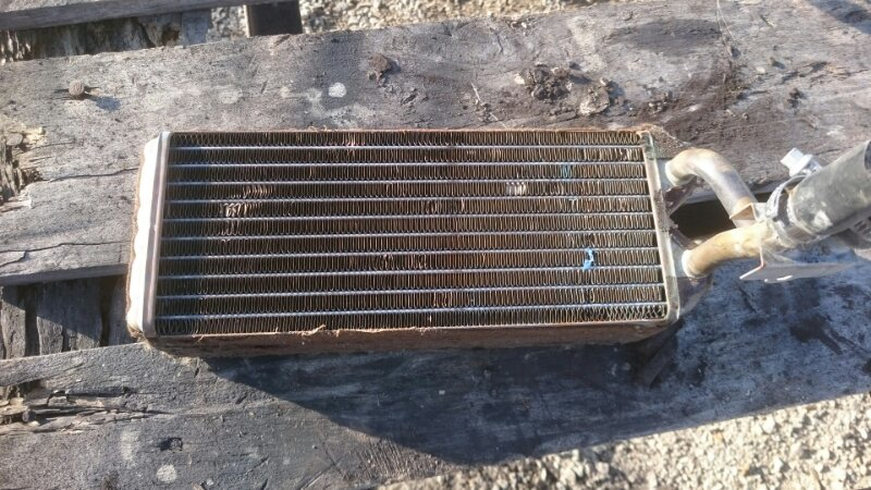 Радиатор печки Toyota Hiace KZH106 1KZ 1998 задний (б/у)