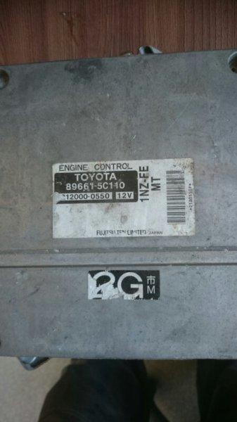 Блок efi Toyota 1NZ-FE (б/у)