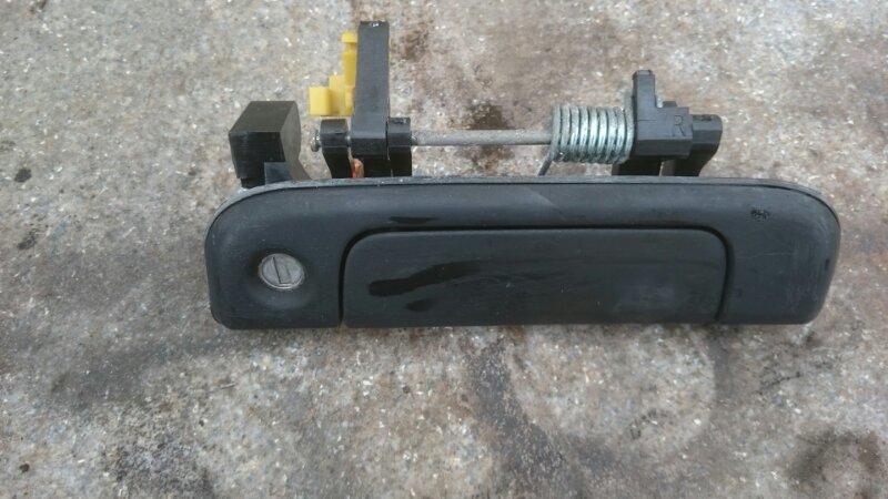Ручка двери внешняя Toyota Hiace KZH106 1KZ 1998 передняя правая (б/у)