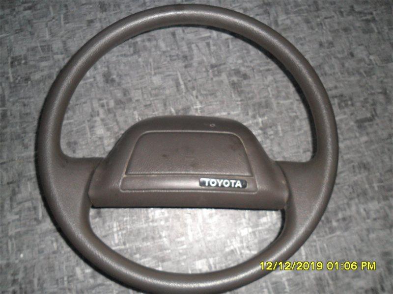 Руль Toyota Hiace KZH 100 1KZ (б/у)