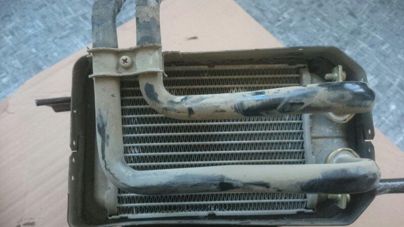 Радиатор печки Toyota Land Cruiser FZJ80 1FZ-FE 1992 задний (б/у)