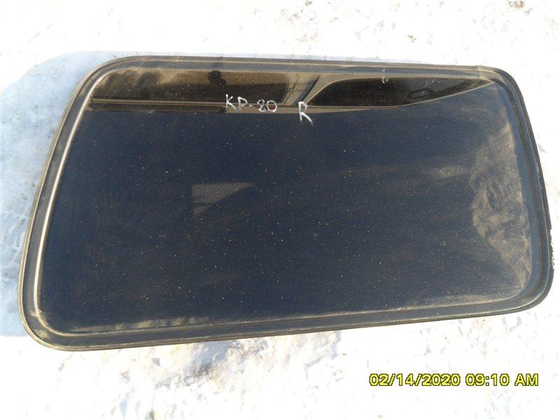 Стекло собачника Toyota Land Cruiser FZJ80 1FZ-FE 1992 заднее правое (б/у)
