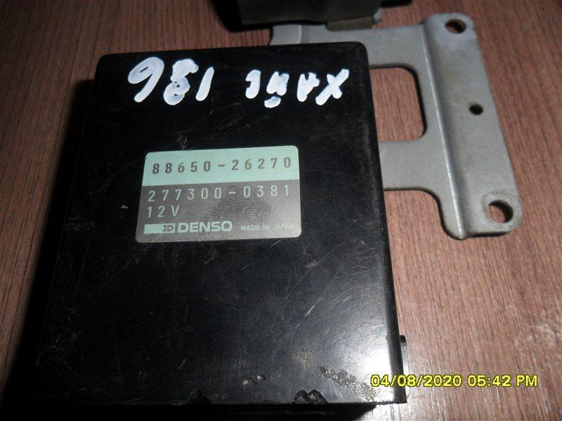 Блок управления кондиционером Toyota Hiace LH186 5L (б/у)