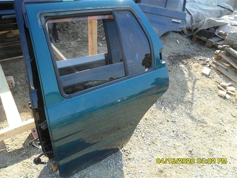 Стекло Nissan Terrano RR50 QD32 1997 заднее левое (б/у)