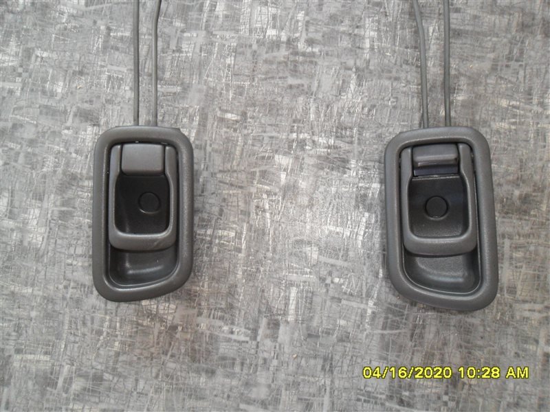 Ручка двери внутренняя Nissan Terrano PR50 TD27T 1995 задняя левая (б/у)
