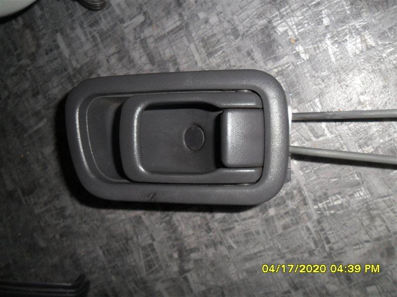 Ручка двери внутренняя Nissan Terrano PR50 TD27T 1995 передняя левая (б/у)