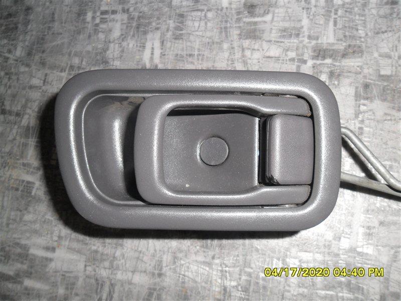 Ручка двери внутренняя Nissan Terrano RR50 QD32 1997 передняя левая (б/у)