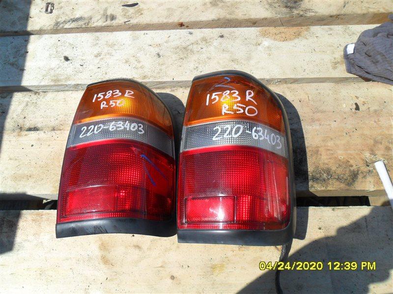Стоп Nissan Terrano PR50 TD27T 1995 задний правый (б/у)