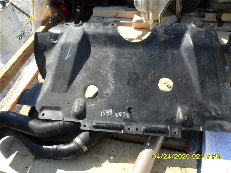 Защита двигателя Nissan Terrano RR50 QD32 1997 (б/у)