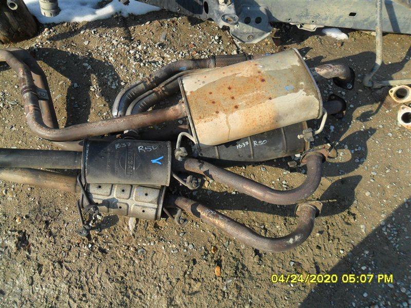 Глушитель Nissan Terrano RR50 QD32 1997 (б/у)