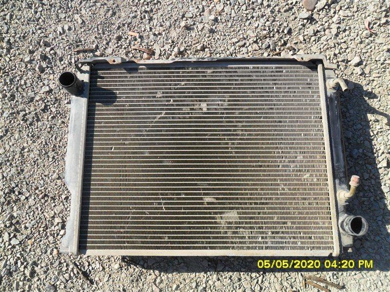 Радиатор двс Toyota Hiace KZH 106 1KZTE (б/у)