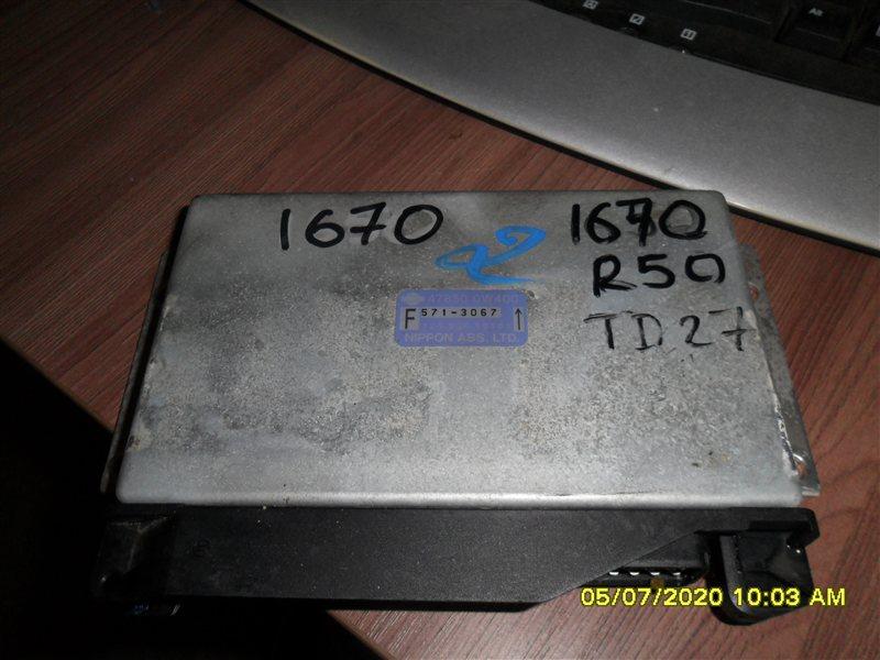 Блок abs Nissan Terrano PR50 TD27T 1995 (б/у)