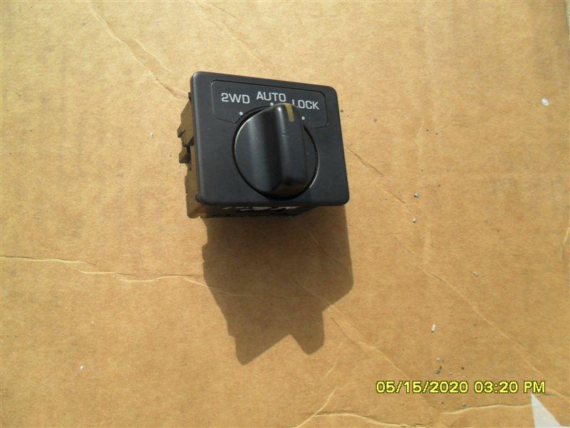 Кнопка включения 4wd Nissan Terrano PR50 TD27T 1995 (б/у)