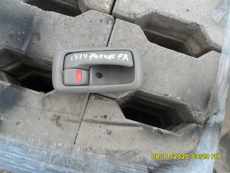 Ручка двери внутренняя Toyota Hiace Regius KCH46 1KZ 1998 передняя правая (б/у)