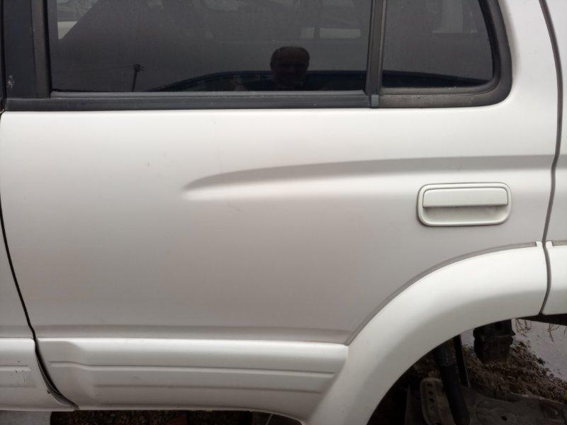 Дверь Toyota Hilux Surf KZN185W 1KZ-TE 1997 задняя левая (б/у)