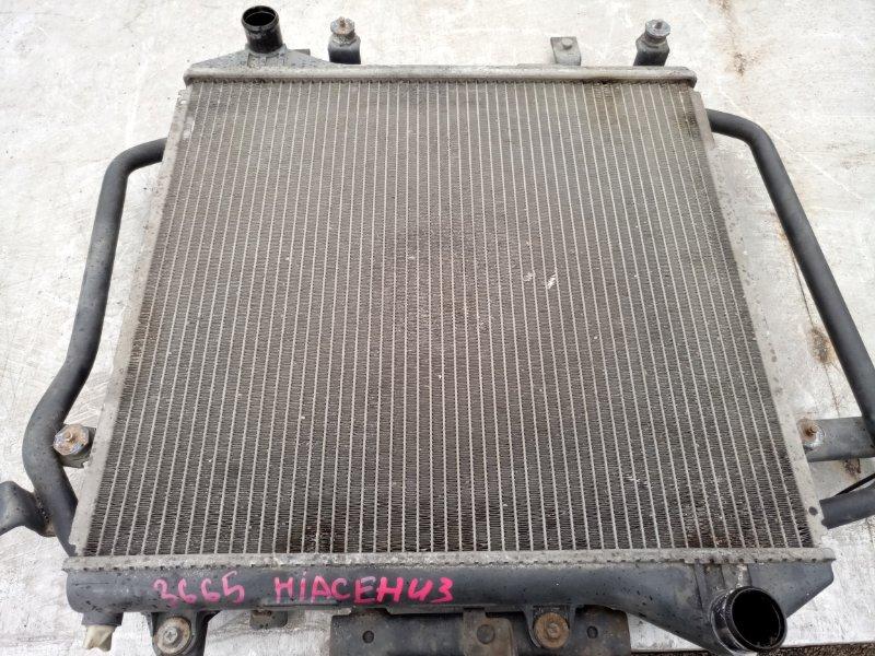 Радиатор двс Toyota Hiace KZH 106 (б/у)