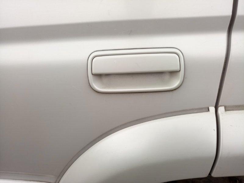 Ручка двери внешняя Toyota Hilux Surf KZN185W 1KZ-TE 1997 задняя левая (б/у)