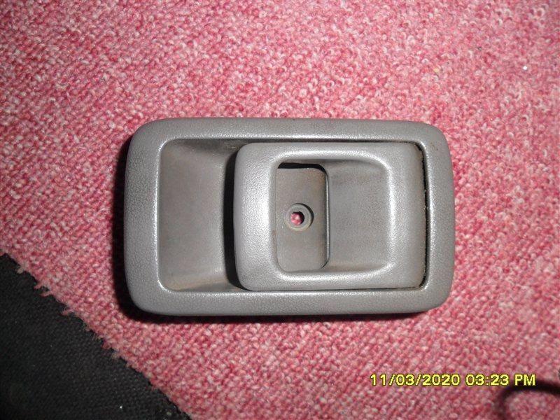 Ручка двери внутренняя Toyota Land Cruiser Prado KZJ78 1994 передняя правая (б/у)
