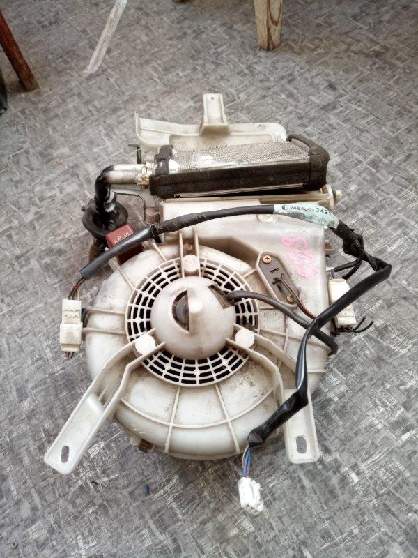 Радиатор печки Toyota Hilux Surf KZN185W 1KZ-TE 1997 задний (б/у)