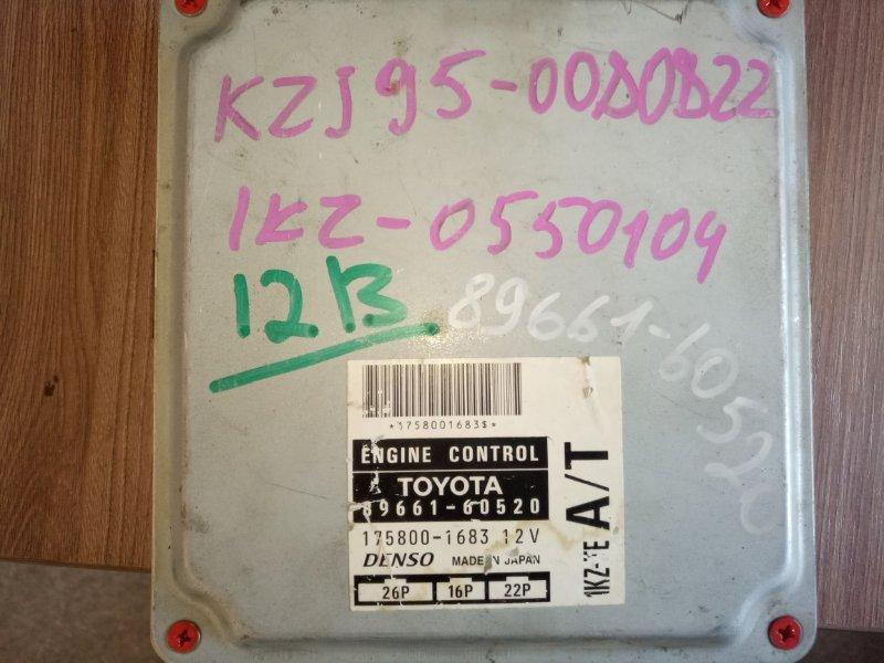 Блок efi Toyota Land Cruiser Prado KZJ95 (б/у)