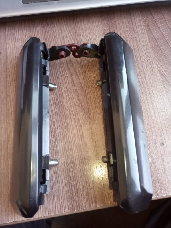 Ручка двери внешняя Nissan Terrano PR50 передняя