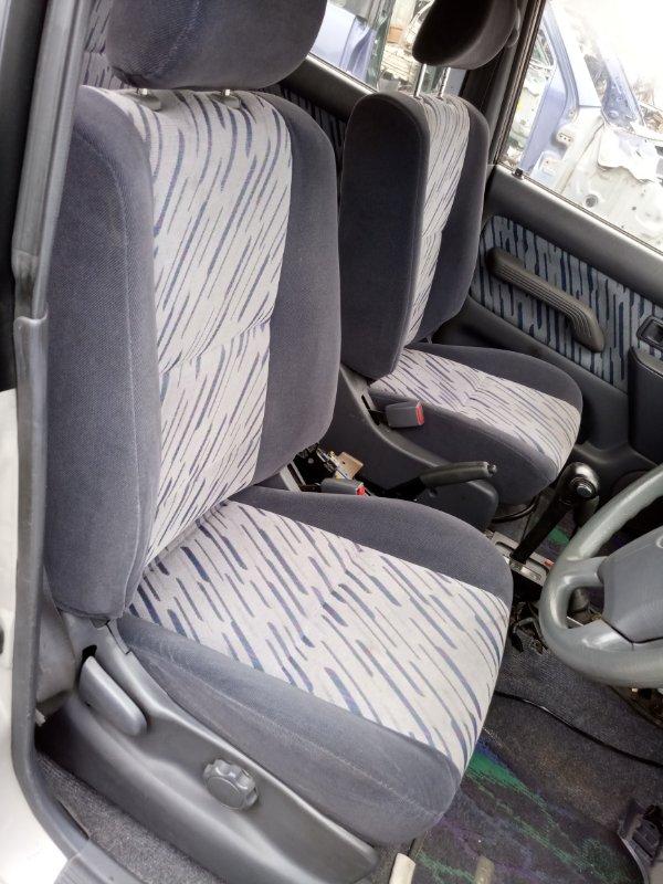 Сиденья комплект Toyota Land Cruiser Prado KZJ95 1KZ-TE 1996 (б/у)
