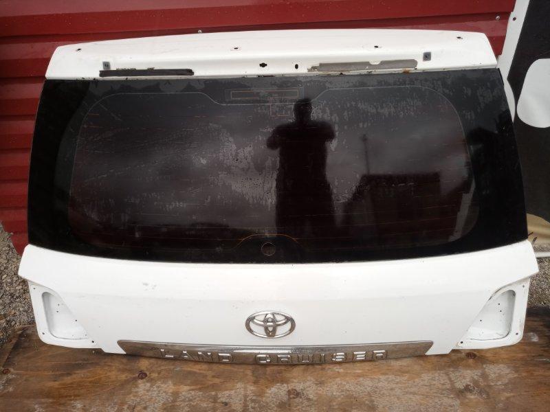 Дверь 5-я Toyota Land Cruiser 200 (б/у)