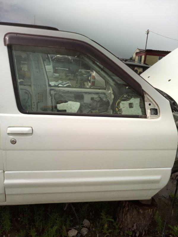 Дверь Nissan Terrano Regulus JRR50-011437 QD32 ETI 1997 передняя правая (б/у)