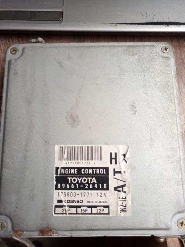 Блок efi Toyota Hiace KZH 106 1KZ-TE. (б/у)