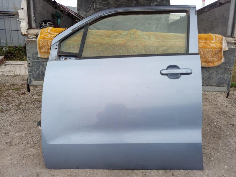 Дверь Suzuki Wagon R MH23S K6A 2010 передняя левая (б/у)
