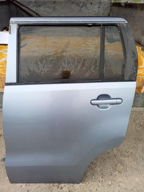 Дверь Suzuki Wagon R MH23S K6A 2010 задняя левая (б/у)