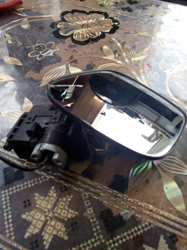 Зеркало-полотно Suzuki Wagon R MH23S K6A 2010 переднее левое (б/у)