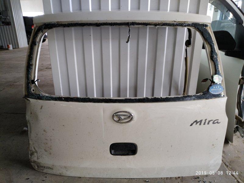 Дверь Daihatsu Mira L275V KF-VE 2006 задняя (б/у)