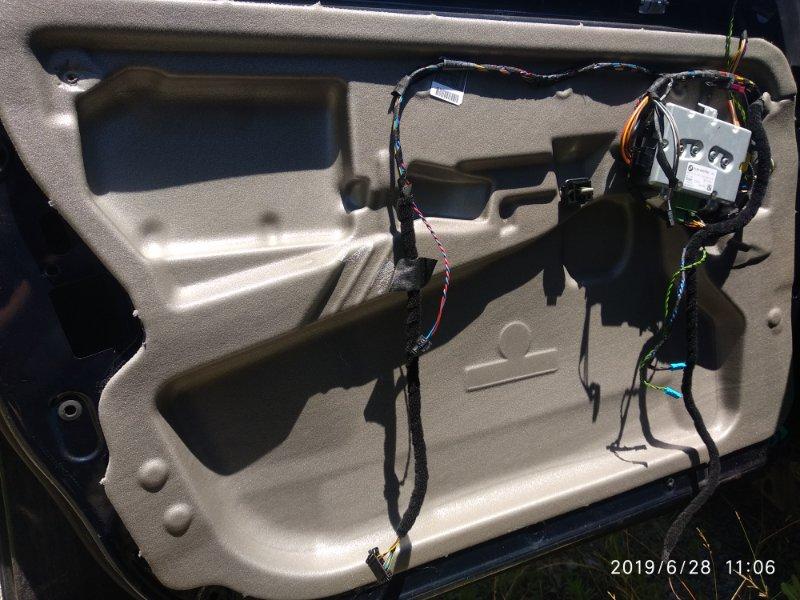 Шумоизоляция Bmw 5 Series E61 E60 M54 2003 передняя левая (б/у)